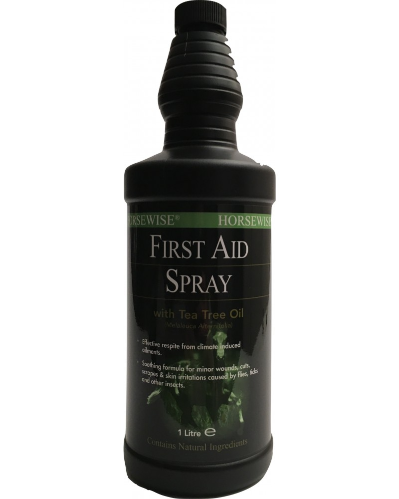 First Aid Spray - Dermite estivale, gale de boue, pourriture de la fourchette