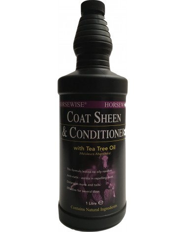 Lustrant Cheval - Entretien Crins et Robe - Coat Sheen & Conditioner