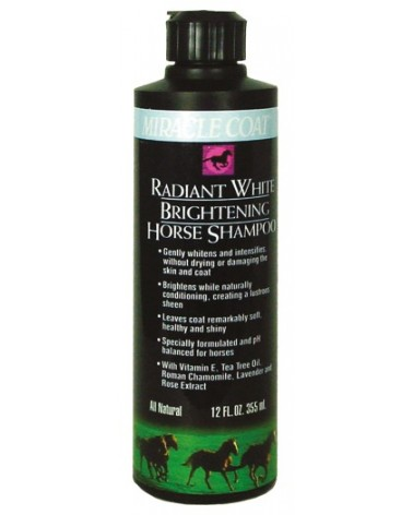 Shampoing Cheval Radiant - Chevaux gris/ blancs